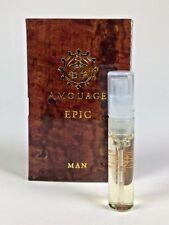 AMOUAGE Epic - Eau De Parfum Man - 2ml/0.06 oz Vial NEW on Card
