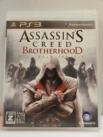 SONY PLAYSTATION 3 PS3 Assassin's Creed Brotherhood COMPLETE JAPAN IMPORT NTSCJ