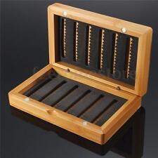 Vintage Bamboo EVA Fly Fishing Box Lure Baits Storage Case Tackle Box Tool HOT