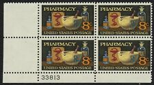 #1473 8c Pharmacy, Plate Block [33813 LL] Mint **ANY 4=FREE SHIPPING**