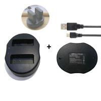 EN-EL14A USB Dual Charger FOR NIKON DF D5200 P7100 for NIKON EN-EL14A BATTERY