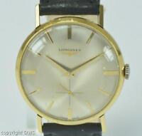 Longines Herrenarmbanduhr in aus 18 Kt. 750 Gold Handaufzug Cal. 237 watch