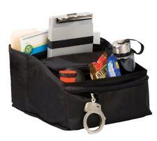 Uncle Mike's Law Enforcement Black Durable Foam-Molded Deluxe Car Seat Organizer
