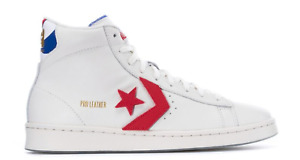 Converse Pro Leather Retro White/University Red/ Blue Dr. J ABA Limited Edition
