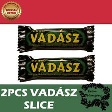 2Pcs Vadász Slice Hungarian Food Chocolate Bars Traditional Delicious Candy