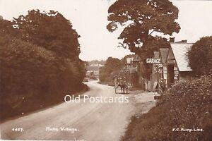 RAKE VILLAGE,  NR LISS, 1915 REAL PHOTO HAMPSHIRE POSTCARD  (ref 6223/21/G4)