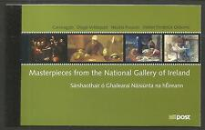 Ireland 2004 National Gallery prestige booklet--Attractive Topical (1575b) MNH