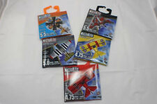 "5 MicroKite Mini 5"" Mylar Kite Red Baron Jet Airplane String Birthday Present"