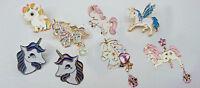 Cute Unicorn Pony Enamel Lapel Pin Badges Collectible Birthday Gift 1pc