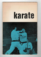 Karate by M. Meeus Dutch Karate book 1966