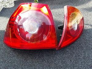 Vw GOLF MK 5  2004 N/S REAR LIGHTS