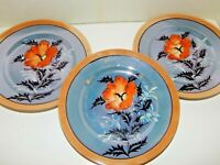 """GORGEOUS!  Set of 5 - Luncheon Plate Dinner 7-1/2"""" - Made in Japan - 1920's"""