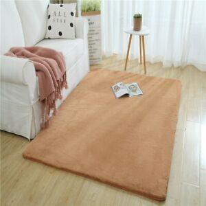 Soft Shaggy Plush Carpet Rug Living Room Faux Fur Bedroom Carpets Home Floor Mat