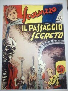 Auguste Pall Roberto Renzi Gavroche N°8 Il Passage Secrète 1949