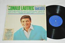 DONALD LAUTREC Mes Plus Grands Succes LP 1966 Lero Records Canada L-710 VG/VG+