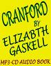 Cranford,Ruth Usw ,9 MP3 Hörbuch Klassisch Novels von Elizabeth Gaskell Neu DVD