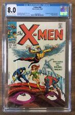 The X-Men 49 CGC 8.0 - 1st Polaris, Steranko Cover