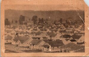 Vintage Postcard St. Helens Addition - Longview Wash Antique Card No Stamp