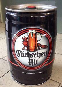 Düsseldorfer Füchschen Alt 5 Liter Party-Fass Bier  Dose Beer - Voll - (4,20/l)