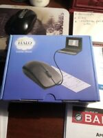 Halo Black Mouse Scanner In Original Box With Software & Manual MSRP $79.95 NEW