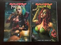 Harley Quinn & Poison Ivy #1 Shannon Maer Trade cover variant set NM 9.4