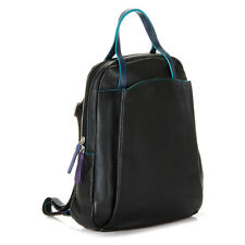 Mywalit Leather Backpack Verona Collection Black Pace