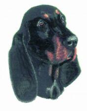 Embroidered Sweatshirt - Black & Tan Coonhound BT3107  Sizes S - XXL