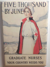 "Nurses Your Country Needs You Magnet 2"" x 3"" Refrigerator Locker"
