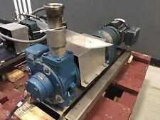 Blackmer Np2e Sliding Vane Pump With 51 75 Relief Valve 3ph 230460v 2hp Gearmotor