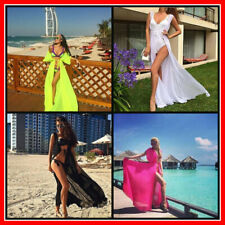 Women Swimsuit Beach Sexy Long Chiffon Bikini Cover Up Ladies Swimwear Beachwear