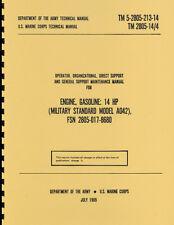 TM5 2805 213 14 ~ Mule Engine ~ AO42 ~ Maintenance Manual ~ Reprnt