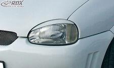 RDX Scheinwerferblenden OPEL Corsa B Böser Blick Blenden Spoiler Tuning