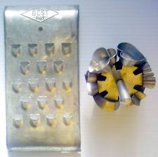 LOT OF TWO VINTAGE KITCHEN ACCESSORIES, ROTATING PUNCH AND RASP