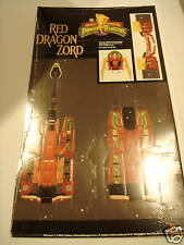 1994 Power Rangers Origami Paper Art Red Dragon Zord