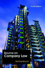 Bourne on Company Law: Fourth Edition-ExLibrary