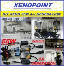 KIT XENON XENO H7 55W SLIM 4.0 GENERATION H1-H3-H11 5000°K 6000K PRO CAN BUS