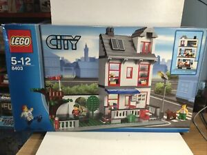 Lego 8403 City House And Garden 100% Complete In Box