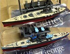 Furuta Battleship series - WWII HMS King George V + Rodney  2 kit set