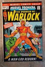 Marvel Premiere #1 FIRST WARLOCK!  HIGHER GRADE! FIRST SOUL GEM!!!