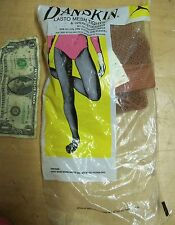NEW Vtg DANSKIN WOMEN'S DANCE Mesh SEXY TIGHTS Burlesque Size B Circus Performer