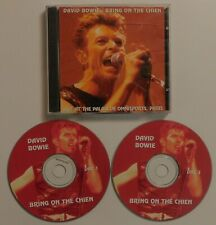 DAVID BOWIE BRING ON THE CHIEN 1996 2CD LIVE IN PARIS NO LABEL