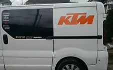 "KTM Van Sticker pack HUGE Graphics 1X 30""x 9.5""  RC8 Superduke MX !!"