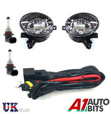 VW GOLF MK6 6 TOURAN JETTA TIGUAN CADDY FOG LIGHTS LIGHT LAMPS L & R +WIRING KIT