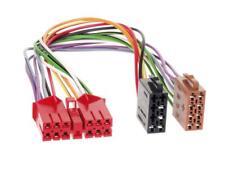radio cable de conexión adaptador para RENAULT R5 R19 R21 ESPACE auf ISO