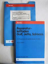 Golf 2 GTI 16V Motor PL Esp+Mechanik+Schaltpläne Reparaturhandbuch Reparaturbuch