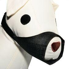 DOG Puppy MUZZLE MuzzLE Nylon Safety Adjustable Black Small Medium Large