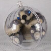 OOAK Fantasy creature Handmade Needle Felted Wool Miniature Unusual Toy Souvenir
