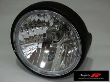Negro Mate Cristal Transparente Moto H4 Ducati Monster 400 600 620 695 Cabeza Luz