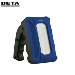 Genuine Deta WL0028 10W 800lm LED Rechargeable Handheld Work Light 3-Modes
