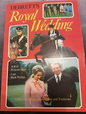 DeBrett's Royal Wedding - Princess Anne & Captain Mark Phillips - 1973